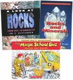 Scholastic Trio Individual Theme Unit Set 4, Science - Rocks, Grades 4-5