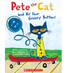 Pete the Cat and His Four Groovy Buttons 9780545649148