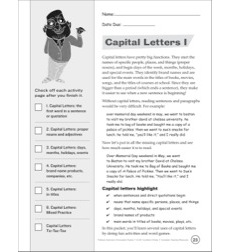 Capital Letters I: Professor Grammar's Punctuation Packet