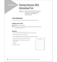 Drawing Inferences With Informational Text: QAR Comprehension Lesson (Grades 2-3)