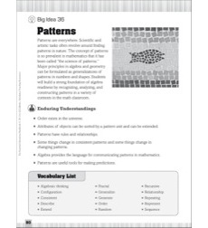 Essential Questions for Mathematics: Patterns