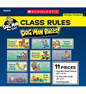 Dog Man Class Rules Mini Bulletin Board