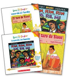 Read & Rise Books and Fun Cards - Pack A Ages 2-5 (Spanish)