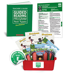 Guided Reading Text Types: Level E