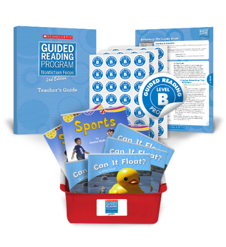 Guided Reading Nonfiction Focus 2nd Edition Level B