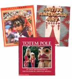 Scholastic Trio Individual Theme Unit Set 3, Social Studies - Native American Culture, Grades 3-4