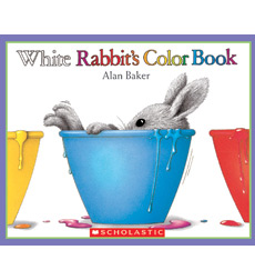 White Rabbit\'s Color Book by Alan Baker