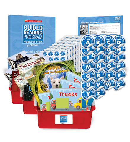 Guided Reading Nonfiction Focus 2nd Edition Complete Set Grades K-6