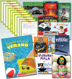 Summer Reading Spanish Fiction & Nonfiction Grade 3 (10 Books)