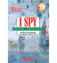 Scholastic Reader! Level 1-I Spy: I Spy Merry Christmas