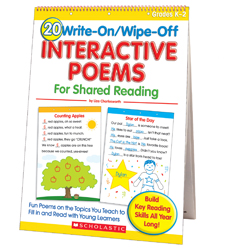 20 Write-on/Wipe-off Interactive Poems for Shared Reading (Flip Chart)