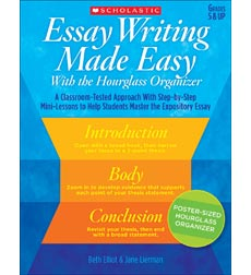Essay Writing Made Easy With the Hourglass Organizer
