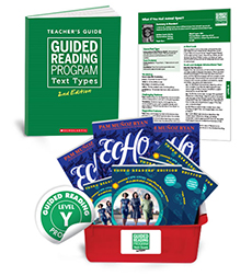 Guided Reading Text Types: Level Y