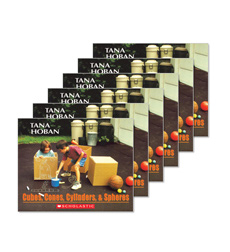 Guided Reading Set: Level B - Cubes, Cones, Cylinders, & Spheres