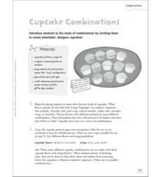 Cupcake Combinations: Quick & Easy Math Art