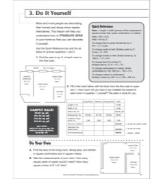 Do It Yourself: Life Skills Practice (Math)