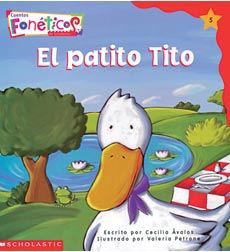 Cuentos Fonéticos™ (Spanish Phonics Readers): El patito Tito
