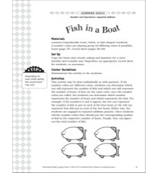 Fish in a Boat (Repeated Addition): Differentiated Math Learning Center