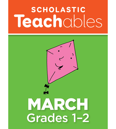 March Grades 1-2 Printable Packet