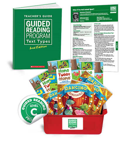 Guided Reading Text Types, 2nd Edition Level C