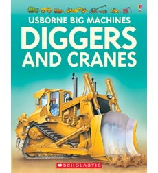 Usborne Books: Diggers and Cranes