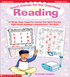 Great Games for the Overhead: Reading