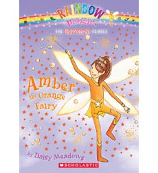 Rainbow Magic: Amber the Orange Fairy