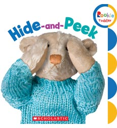 Rookie Toddler-First Concepts: Hide-and-Peek
