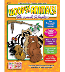 Woodsy Animals Early Childhood Thematic Books