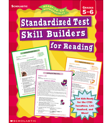 Standardized Test Skill Builders Reading: Grades 5-6