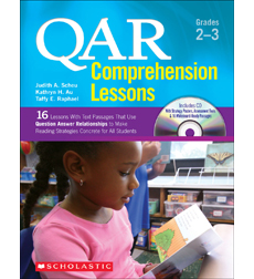 QAR Comprehension Lessons: Grades 2-3
