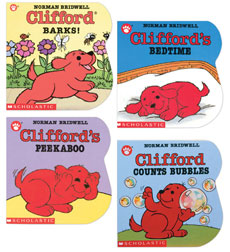 Clifford the Small Red Puppy Collection 1