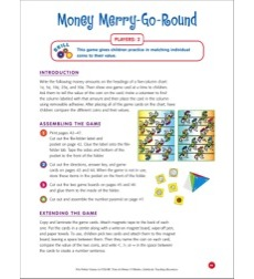 File-Folder Game - Money: Money Merry-Go-Round (matching coins to values)