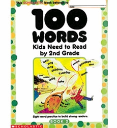 100 Words Kids Need to Read by Second Grade