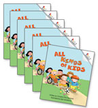 Guided Reading Set: Level D – All Kinds of Kids