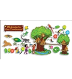 Jungle Treehouse Bulletin Board