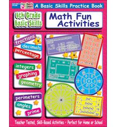 6th Grade Basic Skills: Fun Math Activities by