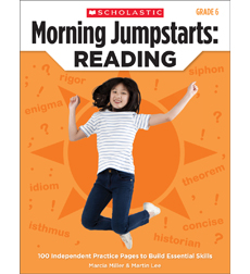 Morning Jumpstarts: Reading (Grade 6)