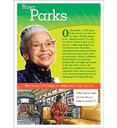 POP! Chart Notable African Americans: Parks
