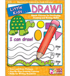 Enjoy these trace-and-draw worksheets developed by teachers