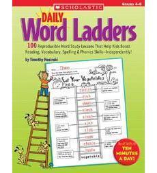 Daily Word Ladders Grades 4 6 By Timothy V Rasinski