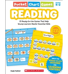 Pocket Chart Games: Reading