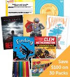 Summer Grade 8 Fiction Classroom Set