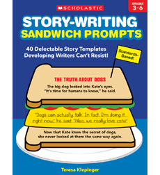 Story-Writing Sandwich Prompts