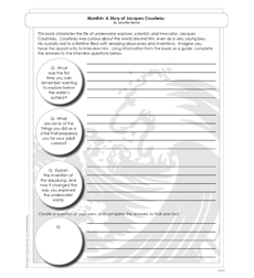 Manfish - Activity Sheet