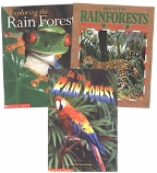 Scholastic Trio Individual Theme Unit Set 4, Science - Rain Forest, Grades 4-5