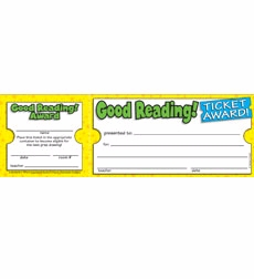 Good Reading! Ticket Awards