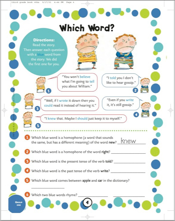 100 Words Kids Need to Read by 3rd Grade by