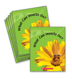 Guided Reading Set: Level F – What Can Insects Do?