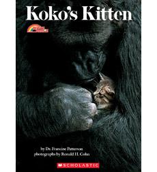 Koko's Kitten by Dr. Francine Patterson